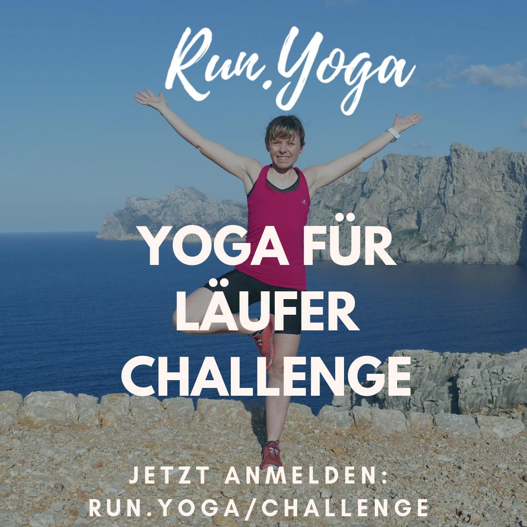 Tage Yoga für Läufer Challenge