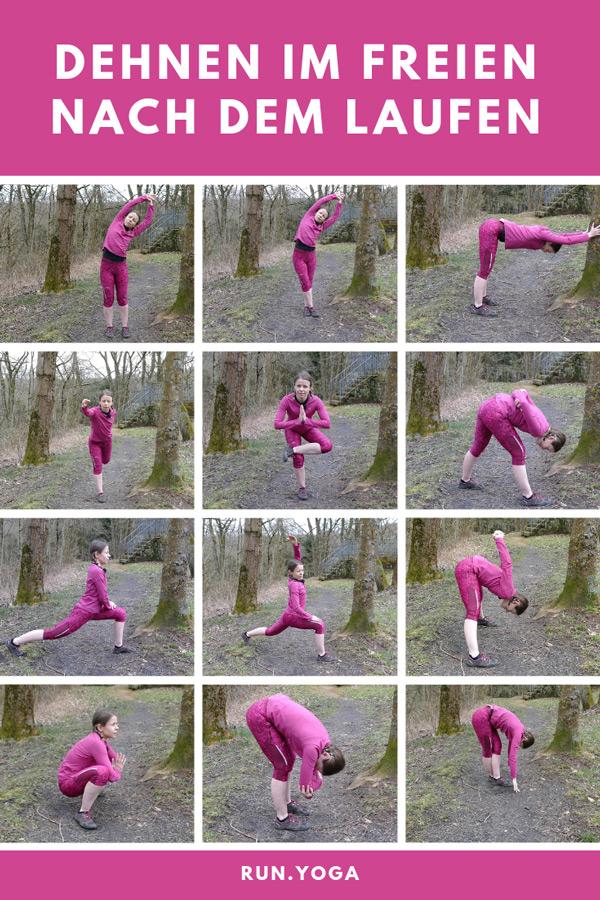 Dehnen nach dem Laufen – die besten Yogaübungen für draußen