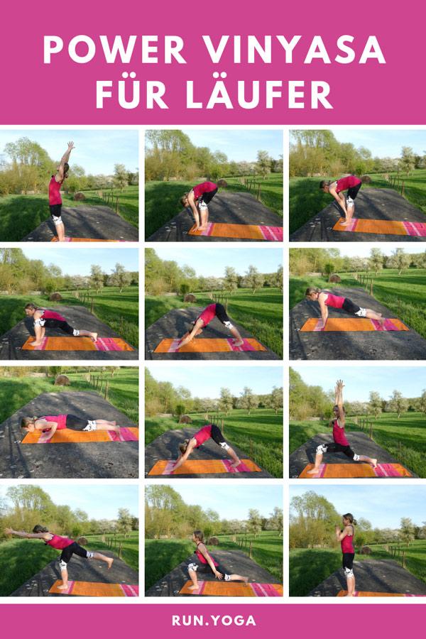 Power Vinyasa Yoga für Läufer